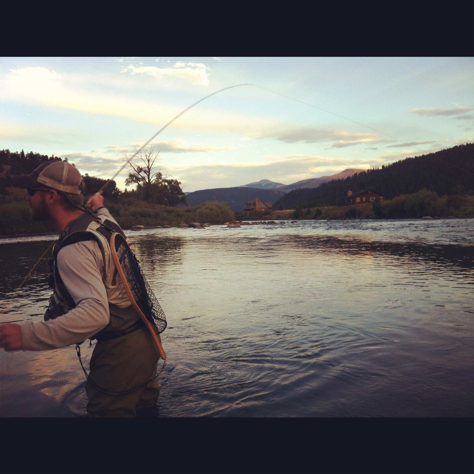 Fly fishing dating site